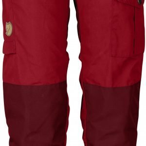 Fjällräven Kids Vidda Trousers Erähousut Deep Red