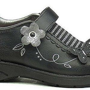 Flower Girl Kengät Musta/Hopea