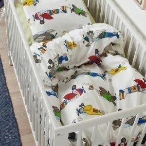Flygplan Pussilakanasetti 2 Osaa Ekologinen Vauvan Monivärinen
