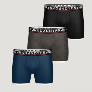 Frank Dandy 3 Pack Boy's St Paul Boxer Bokserit Kirjava
