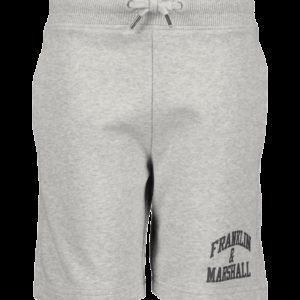 Franklin & Marshall Badge Logo Sweat Shorts Shortsit