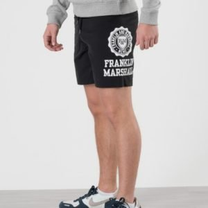 Franklin & Marshall Core Logo Swim Shorts Uimashortsit Musta