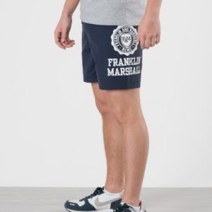 Franklin & Marshall Core Logo Swim Shorts Uimashortsit Sininen