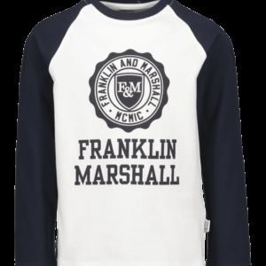 Franklin & Marshall Crest Raglan Layer Paita