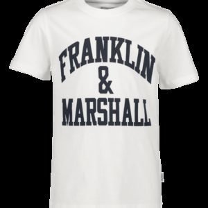 Franklin & Marshall F And M Cf Logo Tee T-Paita