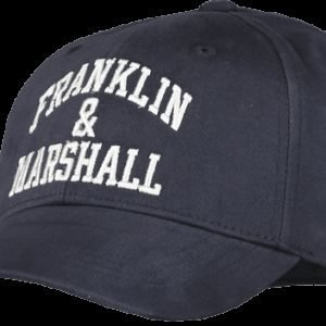 Franklin & Marshall Franklin Logo Cap Lippis