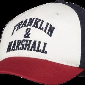 Franklin & Marshall Logo Blocked Cap Lippis