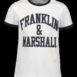 Franklin & Marshall Ringer Logo Tee T-Paita