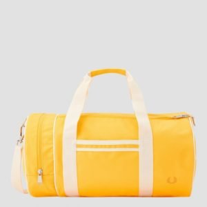 Fred Perry Twin Tip. Barrel Bag Laukku Keltainen