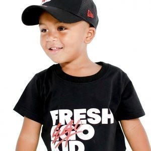 Fresh Ego Kid Logo T-Shirt Musta