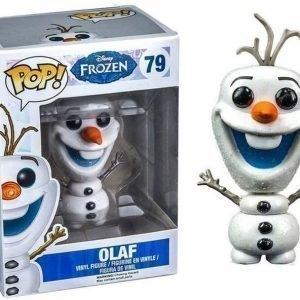 Frozen Glitter Lumiukko Olaf Pop! Vinyyli Hahmo Erikoispainos
