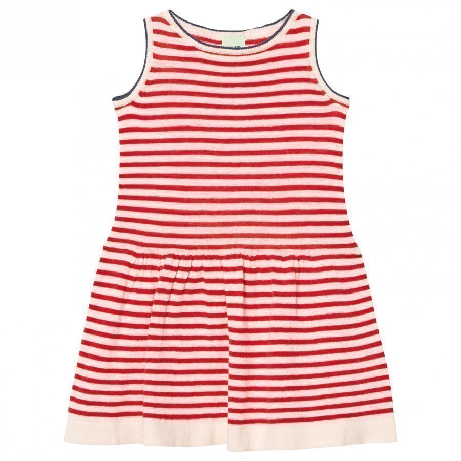 Fub Dress Ecru/Red Mekko
