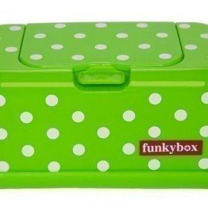 Funkybox Säilytysrasia puhdistuspyyhkeille Lime