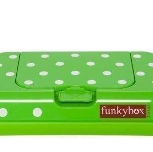 Funkybox Säilytysrasia puhdistuspyyhkeille To Go Lime