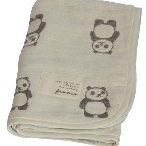 Fuwara Puuvillahuopa 50 x 70 cm Panda