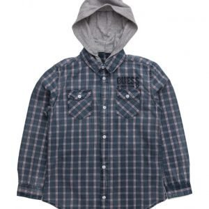 GUESS Ls Shirt Regular Fit