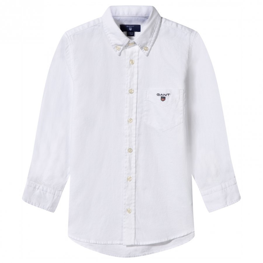 Gant Archive Oxford Shirt White Kauluspaita