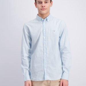 Gant Archive Oxford Stripe Bd Shirt Kauluspaita Sininen
