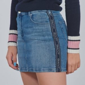 Gant D1. Gant Archive Stripe Skirt Hame Sininen