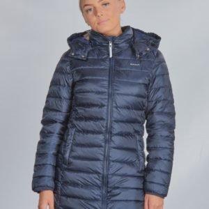 Gant D1. Long Puffer Jacket Takki Sininen