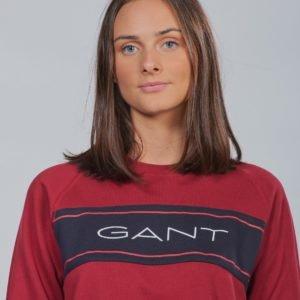 Gant D1. Tb. Gant Archive C Neck Sweat Neule Punainen