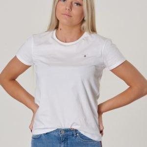 Gant D1. Teens The Original Ss T Shirt T-Paita Valkoinen