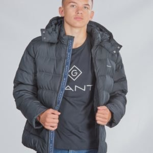 Gant D1. The Puffer Jacket Takki Musta