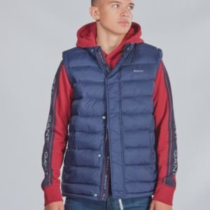 Gant D1. The Puffer Vest Liivi Sininen