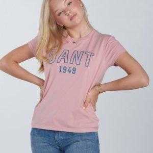 Gant Gant 1949 Ss T Shirt T-Paita Vaaleanpunainen