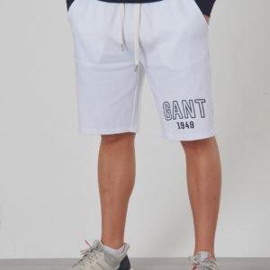 Gant Gant 1949 Sweat Shorts Shortsit Valkoinen