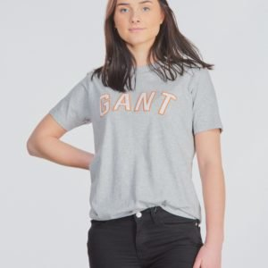 Gant Gant Casual T Shirt T-Paita Harmaa