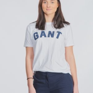 Gant Gant Casual T Shirt T-Paita Valkoinen
