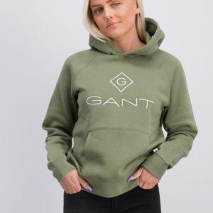 Gant Gant Lock Up Sweat Hoodie Huppari Vihreä