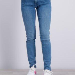 Gant Gant Skinny Jeans Farkut Sininen