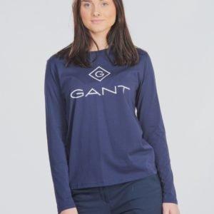 Gant Lock Up Long Sleeve Paita Sininen