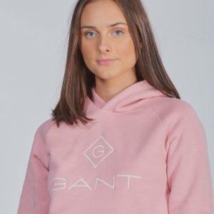 Gant Lock Up Sweat Hoodie Huppari Vaaleanpunainen
