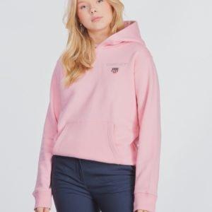 Gant Medium Shield Sweat Hoodie Huppari Vaaleanpunainen