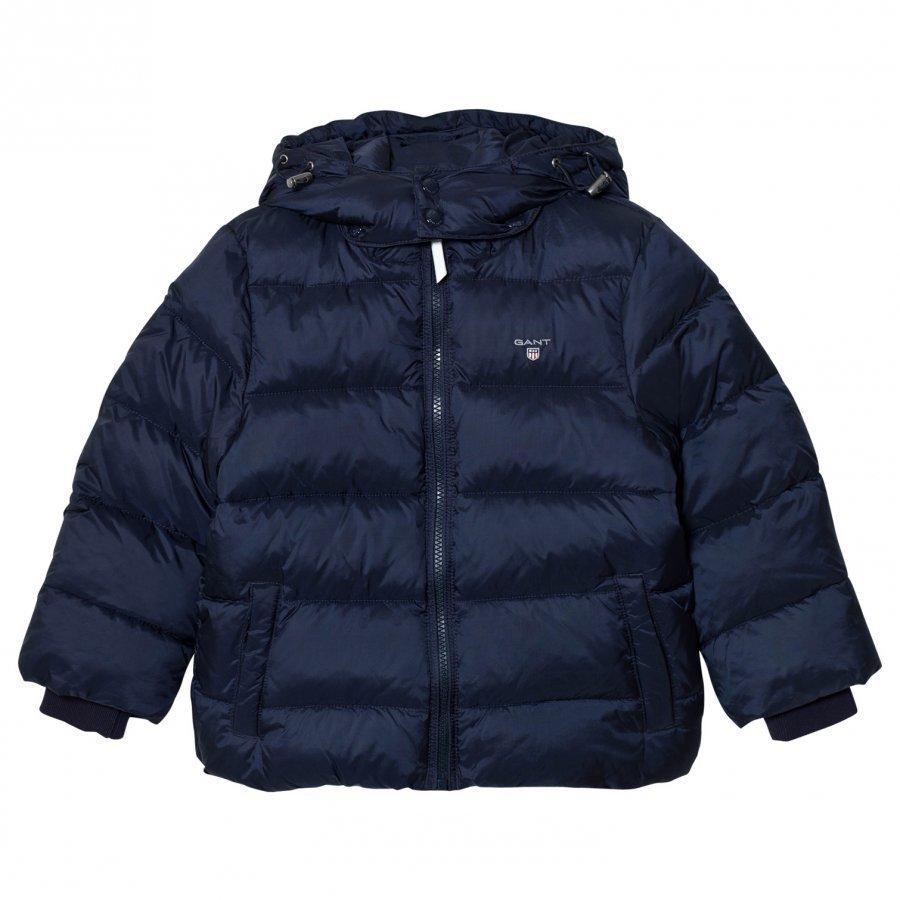 Gant Navy Puffer Jacket Toppatakki