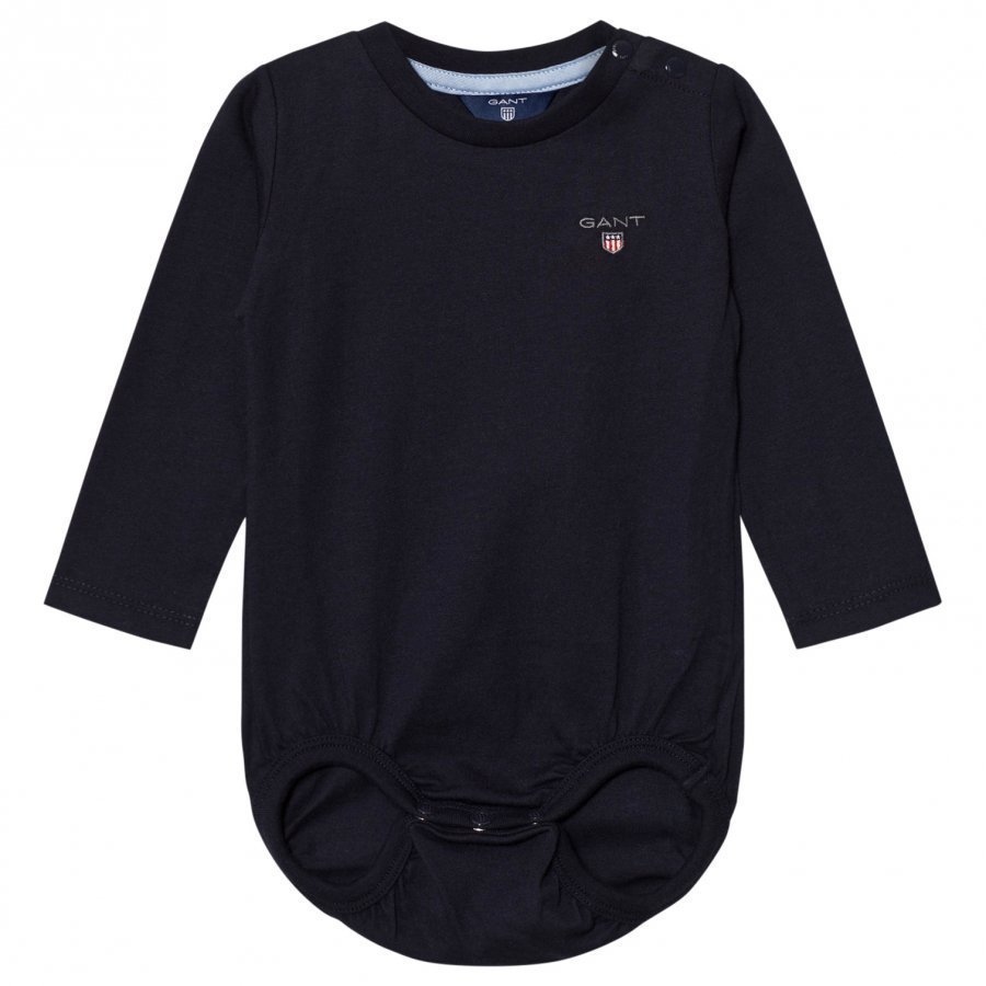 Gant Navy Shield Jersey Baby Body