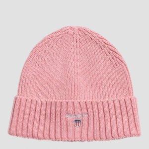 Gant Original Ribbed Beanie Hattu Vaaleanpunainen
