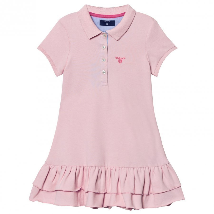 Gant Pink Pique Polo Dress Mekko