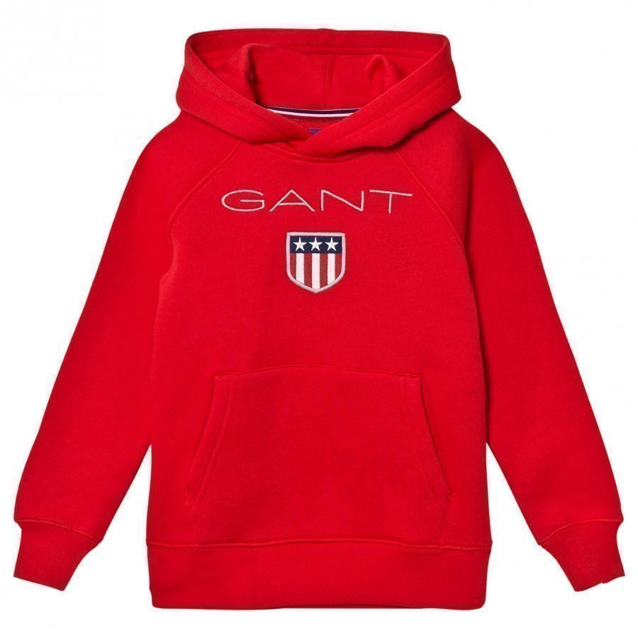 Gant Red Shield Overhead Hoody Huppari