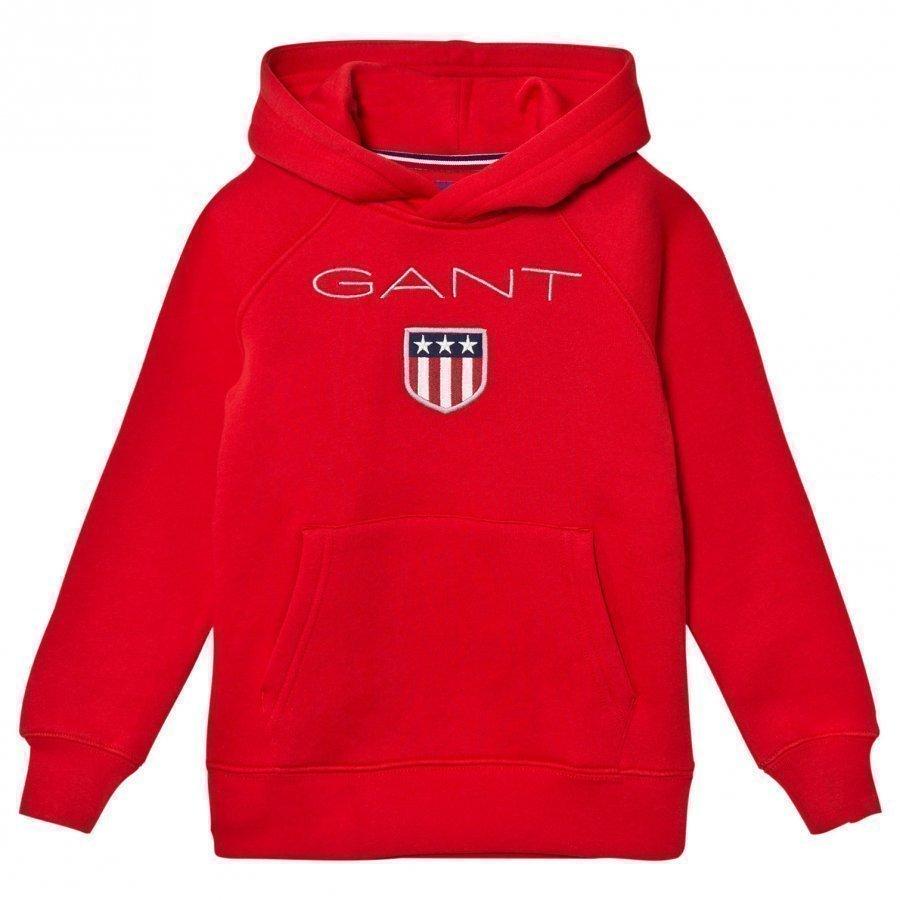 Gant Red Shield Overhead Hoody Huppari