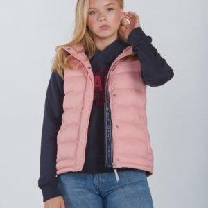 Gant The Puffer Vest Liivi Vaaleanpunainen