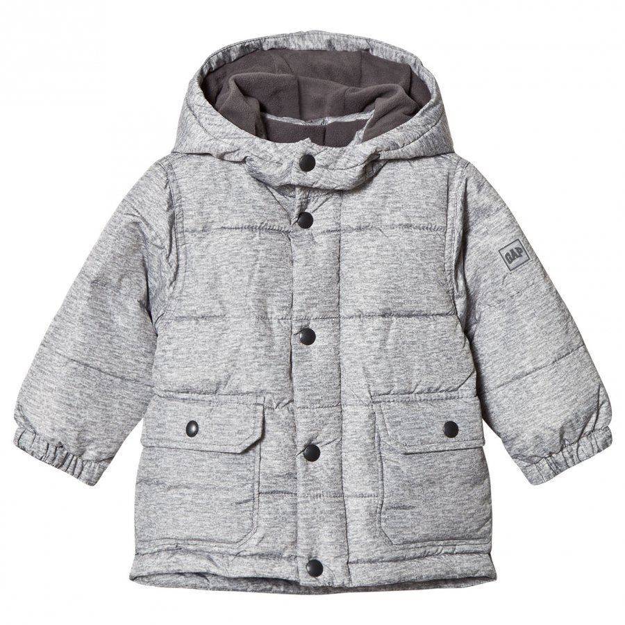 Gap 030056800 Warm B20 Grey Heather Toppatakki
