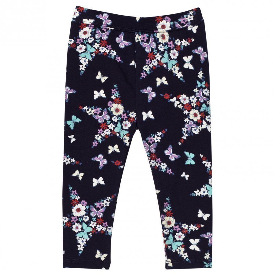 Gap Aug Ptf Lgn Navy Floral Legginsit