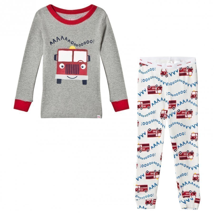 Gap B Firetruck Lj B10 Grey Heather Yöpuku