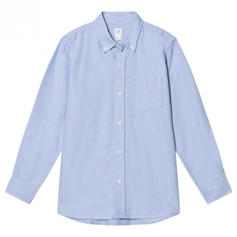 Gap Basic Oxford Blue Kauluspaita