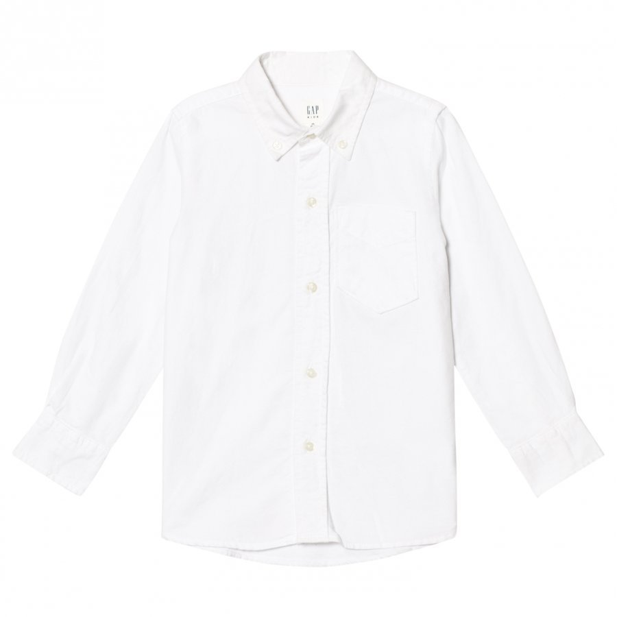 Gap Basic Oxford White Kauluspaita