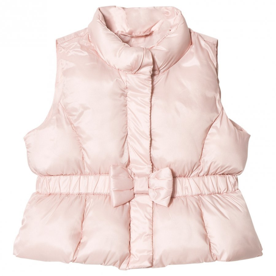 Gap Bow Vest Pink Champagne Liivi